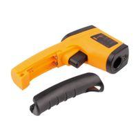 arma de contato venda por atacado-New Laser LCD Digital IR Termômetro Infravermelho GM320 Medidor de Temperatura Gun Point-50 ~ 380 Graus Não-Contato Termômetro