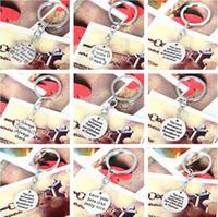 ingrosso vendita regalo di ordine-Brand new Family serie affection lettering portachiavi portachiavi vendita regalo Festa della mamma R007 Arts and Crafts mischiano ordine