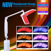 Wholesale Photon Led Skin Rejuvenation - Beauty Salon Use PDT LED Skin Rejuvenation Machine Light Therapy Photon Machine With 7 Colors Professional With CE