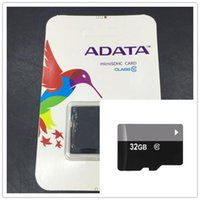 Wholesale Adata 32gb Sd Sdhc Card - DHL 100% Real ADATA 2GB 4GB 8GB 16GB 32GB 64GB Class10 Micro SD TF Memory SDHC Card SD Adapter Retail Package