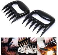 ayı pençeleri toptan satış-Toptan 50 adet ile Mutfak Eşyaları Barbekü Araçları Ayı Pençeleri Et Handler Forks Pençeleri Et Pençeleri Ayı Pençeleri Domuz Ipi Maker DHL FEDEX