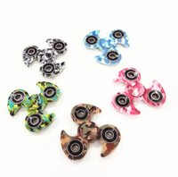 Big Kids spinner blades - MOQ10pcs Blade Camo EDC Fidget Spinner finger spinner Hand tri spinner HandSpinner EDC Toy For Decompression Anxiety Toys
