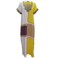Wholesale Maxi Dresses Designs - Tilapia new design women big dress ankara style african dashiki femme vestidos kaftan maxi long summer women dress