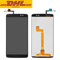 Wholesale Alcatel Parts - For Alcatel One Touch Idol 3 5.5inch 6045 OT6045 LCD Display Touch Screen Digitizer Assembly Original Replacement Parts