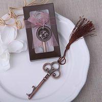 viktorya dönemi anahtarları toptan satış-Retro Antik Viktorya anahtar Şişe Açacağı Düğün Iyilik ve Hediye