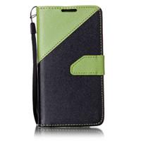 стойки для тросов оптовых-Чехол для Samsung Galaxy J5 J7 S4 i9500 S5 i9600 S6 S6 S7 S7 Edge A3 A310 A510 Shell искусственная кожа стенд бумажник с карты слоты веревка крышка