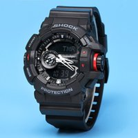 Wholesale G Shock For Men - New 2018 shock relogio GWG men's sports watches with box, LED chronograph wristwatch, military watch, good gift for g men & boy, watches