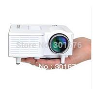 Wholesale Hongkong Shipping - Wholesale-By HongKong Post Free Shipping Cheapest HDMI Mini AV LED Digital Projector USB,VGA, 320*240 Multimedia Player proyector 110-240V