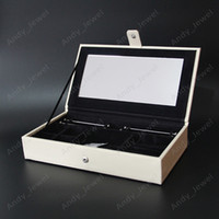 4bd6e2235 Wholesale jewelry box resale online - Single Layer Jewellery Boxs fits  European Pandora Style Charms Beads
