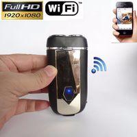 Wholesale Shaver Camera - 1080P Shaver Hidden Camera WiFi P2P IP Camera Build-in 8GB HD Motion Detection electric razor Surveillance Camera DVR Video Recorder