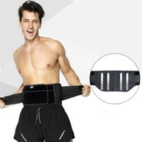 All'ingrosso-AOLIKES 1 pezzi Uomini Donne Gym Vita Bodybulilding Sports Cintura pressurizzata Steel Supporting Lombare spina dorsale Back Pain Strain