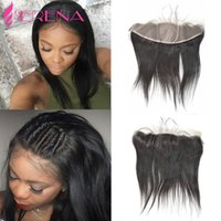 8A Brazilian Straight Virgin Cheveux Soie Top Lace Frontal 13x4