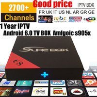 Wholesale Tv Channel Wholesale - IPTV box E8 S905X with 2700 channels ARABIC Brazil TV Latino EUROPE Turkish French IPTV KD 17.3 Free IPTV h.265 4k*2k Video