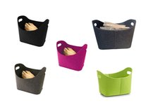 Wholesale Books Magazines Wholesale - Felt nonwoven fabric basket, suitable for collecting wood, books and magazines, clothing and other items. Support custom wholesale