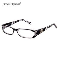 Acetate sparkle rims - New Stylish High Quality Plastic Rectangle Full Rim Women Optical Eyeglasses Frame with Sparkling Crystals At The Front Corner
