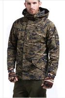 Wholesale G8 Windbreaker Jacket - Hot Selling G8 tactical ski-wear, triad male money waterproof outdoor enthusiasts fleece jackets camouflage mountaineering w