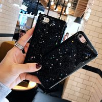 Wholesale Iphone Case Bling Starry - Fashion Glitter Bling Star Cases Luxury Cartoon Starry Sky Back Cover Capa For iphone 7 Case For iphone7 6 6S PLus Phone