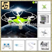 Wholesale Toy Propellers For Helicopter - Wholesale- Free Shipping Hot Sell With Propeller Protection M9912 RC Drones Gin H7 RC Helicopter vs H8 H107D CX-10 CX-10A RC Toys for Kids