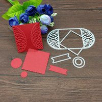 square invitation paper - METAL CUTTING DIES pc flower square gift Scrapbook card album invitation paper craft party decoration embossing stencil cutter