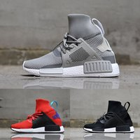 Wholesale Running Adventure - NMD XR1 Adventure Grey Sneakers Men Women Youth Running Shoes PrimeKnit Mid boots Trainings