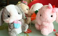 Wholesale Amuse Plush - sitting 22cm including ear 30cm Soft adorable rabbit Japanese Amuse Lop plush toy doll rabbit doll birthday gift Best Gift 1pcs