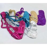 Wholesale Xs Micro - Mens Micro String Thongs Bulge Pouch T-back Shiny Underwear Upward Rocket Pouch Metallic coated Jersey G4953