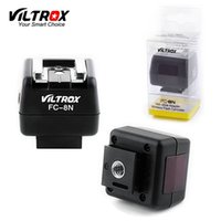 Wholesale Hotshoe Adapter - Viltrox FC-8N Wireless HotShoe Adapter Light control flash converter PC Sync Socket for Canon Nikon Pentax Yongnuo oloong flash