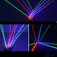 Wholesale American Dj Moving Head - 1720MW 8 Lens RGB Fat-Beam Moving Head Spider Laser Stage Light DJ Club American for Wedding Christmas Birthday DJ Disco KTV Bar Event Party