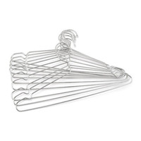 Wholesale Wholesale Hangers For Children - Stainless Steel 40cm Hangers For Clothes Antiskid Drying Clothes Coat Storage Organizer Rack Adult And Children Hanger ZA3327