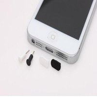 handy-kopfhörer-kappe großhandel-10X 3.5mm Kopfhörer + Ladegerät USB Anti-Staub-Stecker Kappe Stopper für Smartphone, Handy, Android-Handy