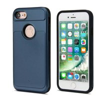 Wholesale Iphone4s Case Tpu - High Quality Hybrid Cell Phone Case For iphone4S 5SE 6s 6Plus 7 7Plus Tough Back Cover Shock-proof For SamSung S4 S5 S6 S7