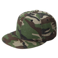 Wholesale Camouflage Ball Caps - Wholesale- 1Pcs Summer Fashion Men Women Unisex Adjustable Baseball Caps Outdoor Blank Snapback Caps HipHop Hats Camouflage Sun Hats