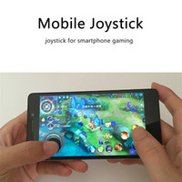 Wholesale Wholesale Touch Screen Pads - Mini Feeling Mobile Game Joysticks Mobile Smartphone Rocker Touch Screen Joystick for iPhone Pad Mobile phone