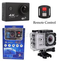 4K UltraHD Sport Action Camera F60R WIFI 2.4G telecomando videocamera impermeabile 16MP / 12MP 4K 30FPS Diving Recorder