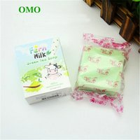 (In magazzino) - OMO Green Tea Soap Mix Color Plus Five Bleached White Skin 100% Gluta Rainbow Soap