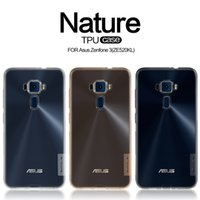 Wholesale Nature Soft - NILLKIN Ultra Thin Transparent Nature TPU Case for Asus Zenfone 3 (ZE520KL) Clear TPU Soft Back cover +Retail package