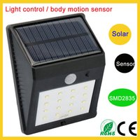 Wholesale Cheap Outdoor Solar Led Lights - Shenzhen cheap price Motion Sensor wireless outdoor wall lamps solar patio lights 8leds 12leds 16leds 20leds