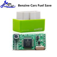 Green EcoOBD2 ECU Chip Tuning Box pour les voitures de benzine Fuel Save Eco OBD2 Gasoline Plug and Drive Performances 15% Économie de carburant