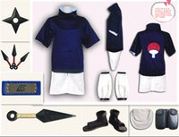 Wholesale naruto cosplay for sale - Naruto Sasuke Uchiha cosplay clothes generation cos they can not find a Full set of clothing