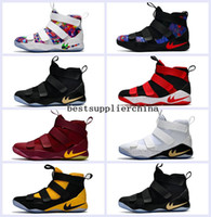 Wholesale Soldiers Fashion - 2017 New Limited Edition James Fashion Soldiers 11 Mens Basketball Shoes High Quality Chameleon XI Soldier 11s LBJ Sports Training Sneakers