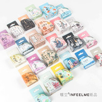 Wholesale scrapbooking washi tape - Wholesale- 2016 1Box If only the beginning of life Poem Washi Tape Decorative Tape Scrapbooking Stickers DIY Stationery 5 7 Meters Tapes M
