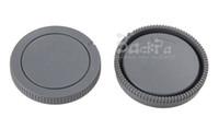 Wholesale Bayonet Mount Lens - Wholesale-S0NY E-mount Camera body cover +Lens bayonet cap for A7S A7M2 A7 A7r A5000 A5100 A6000 NEX3 3N 5C 5N 5R 5T 6 7 C3 F3 No Tracking