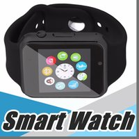 DZ09 GT08 Smart Watch Relógios Wrisbrand Android Watch Smart SIM Intelligent Mobile Phone Sleep State Smart watch Pacote de varejo F-BS