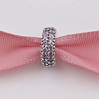 tv feita venda por atacado-7 cor! Pavé Inspiration Spacer Charme Beads Feito de 925 Sterling Silver Fit Marca Europeia ALE Pulseiras Estilo Colar de Presente de Jóias