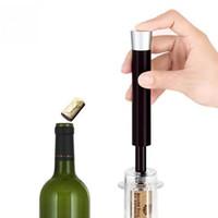 Wholesale Pump Wine Opener - Wine Air Pressure Pump Beer Bottle Opener Easy Remover Tool Best Wine Opener Cork Out Tool Personalized Bottle Opener Great For Wine Lovers