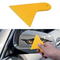 Wholesale Window Tinting Tools Wholesale - 50 x Window Film Handle Squeegee Tint Film Sheet Scraper Blade Tool Free Shipping