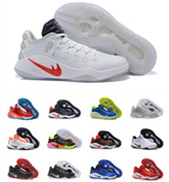 Wholesale Men Shoes Low Cut - Wholesale 2016 Cheap Basketball Shoes Men Hyperdunk 2016 Top Quality Zoom Low Cut New Sneakers Men's Sports Shoes Size US 7-12 Free Shipping