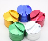 Wholesale Big Roll Paper - Big Grinders 75mm Grinders large Aluminium Alloy Herb Grinders Herb Grinder Rolling paper Grinder VS Phoenician Grinder OEM Free Shipping