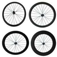 Freio a disco 24mm 38mm 50mm 60mm 88mm Carbon Cyclocross Bike Wheels Only Roda dianteira Cyclocross Roda de bicicleta uma roda
