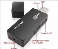 Wholesale U9 Usb Flash Disk - HD Mini DV U9 Spy USB Flash Drive U Disk HD Hidden Camera with Motion Detection 1280*960
